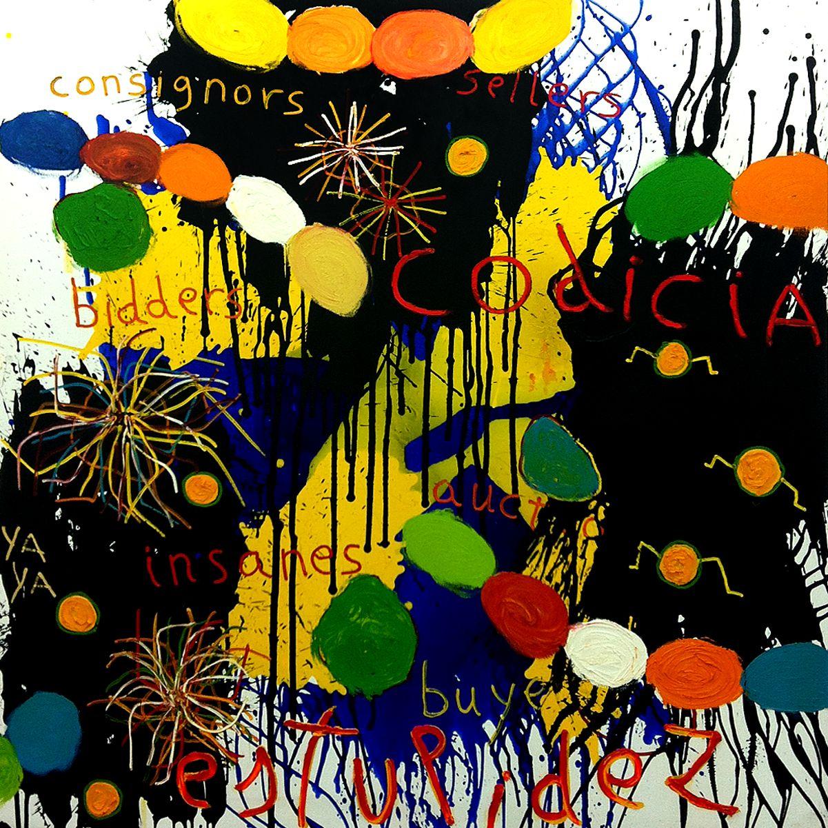 OIL / CANVAS. 200 x 200 cm. 2014