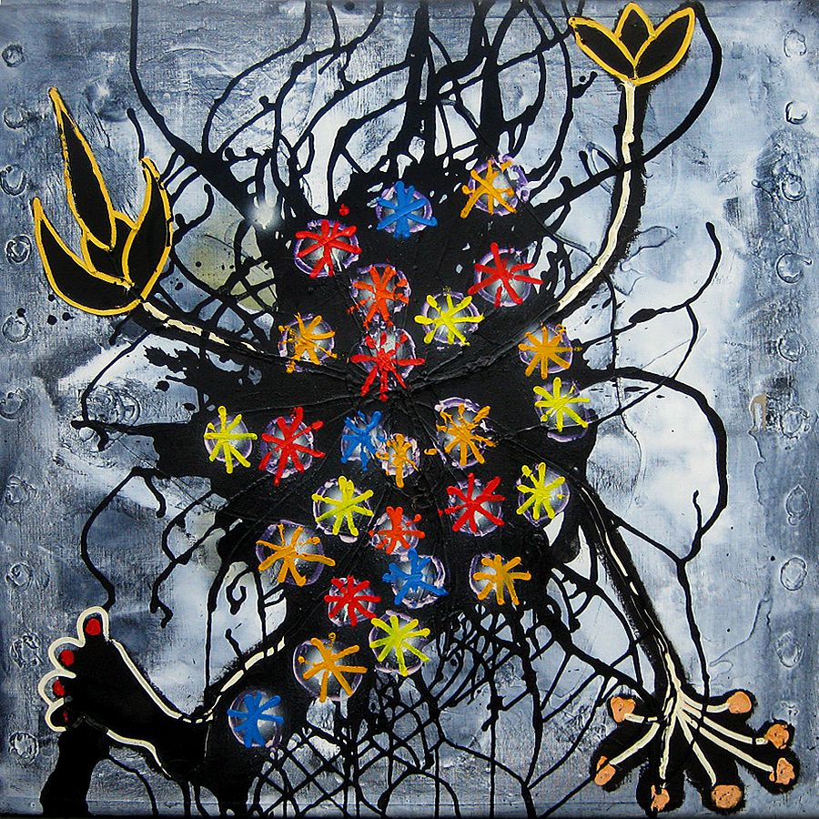 OIL / CANVAS. 100 x 100 cm. 2011
