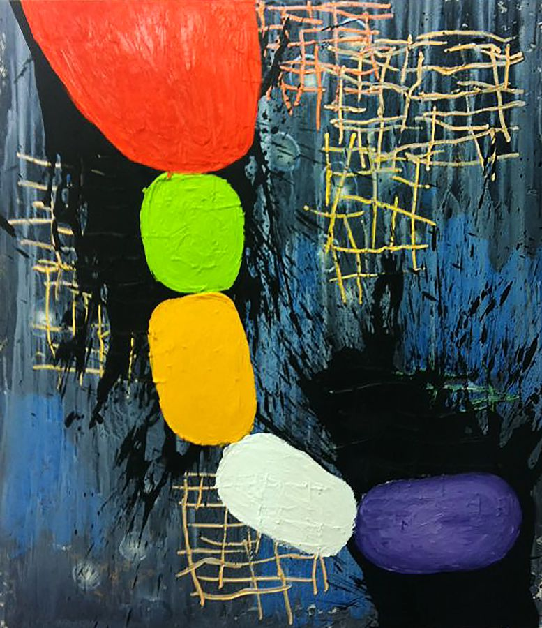 OIL / CANVAS. 146 x 114 cm. 2012
