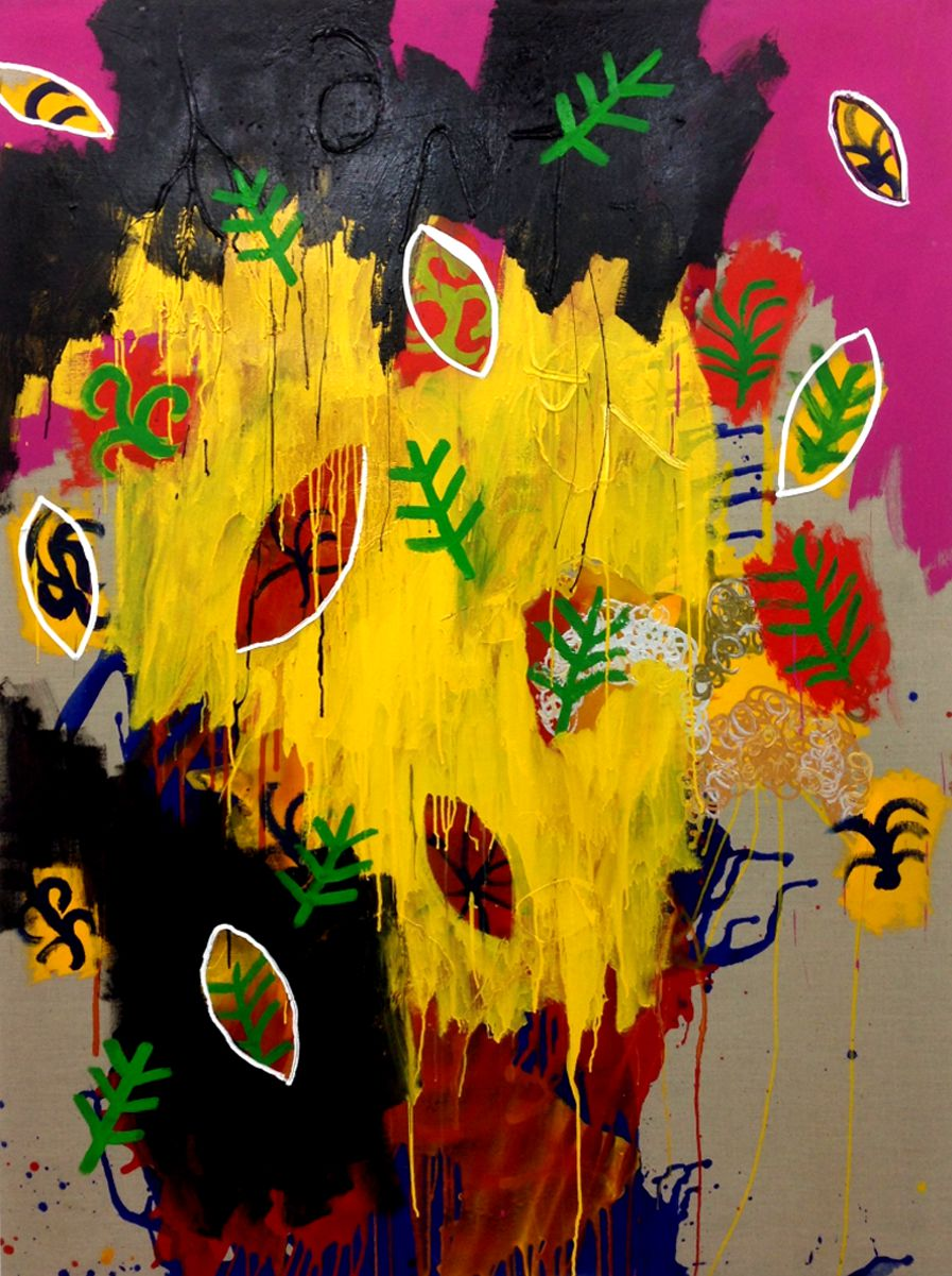 OIL / CANVAS. 195 x 130 cm. 2013