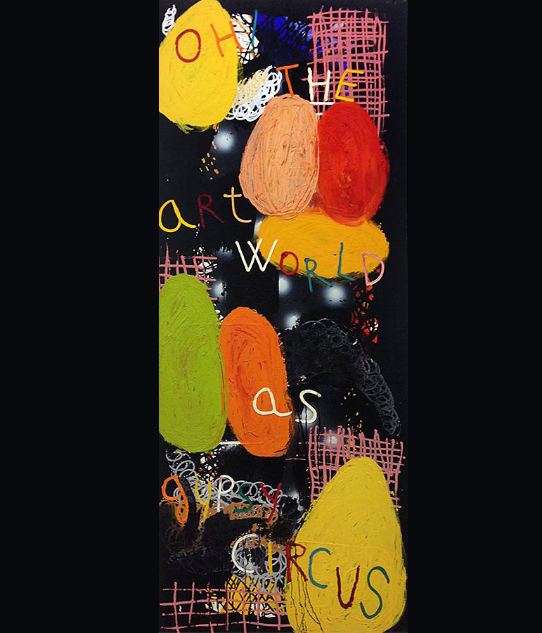 OIL / CANVAS. 180 x 160 cm. 2010