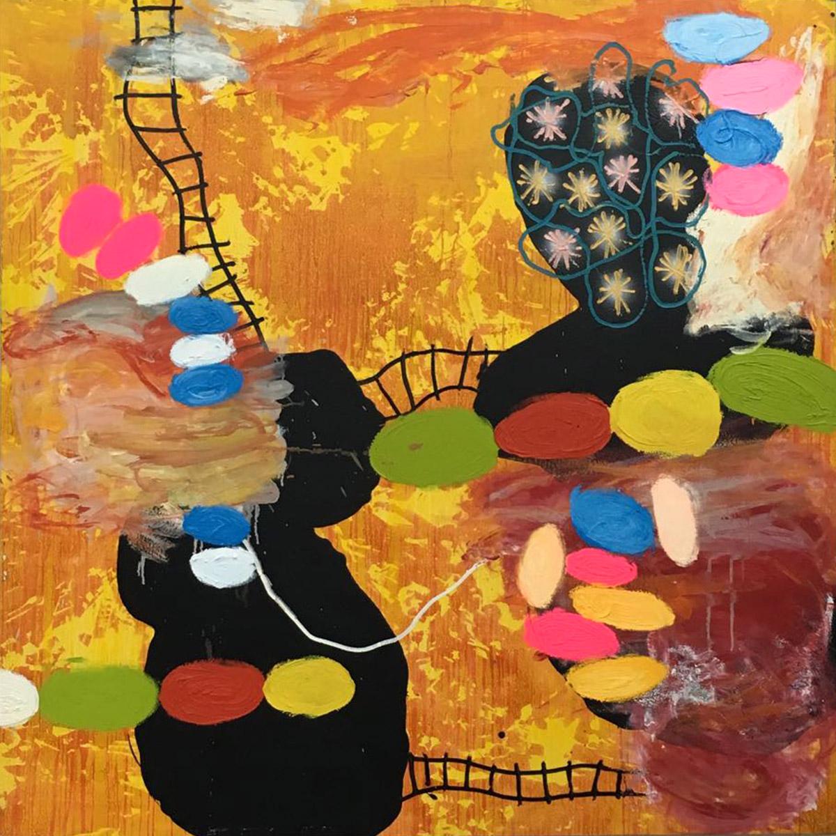 T. mixta. 150 x 150 cm. 2010