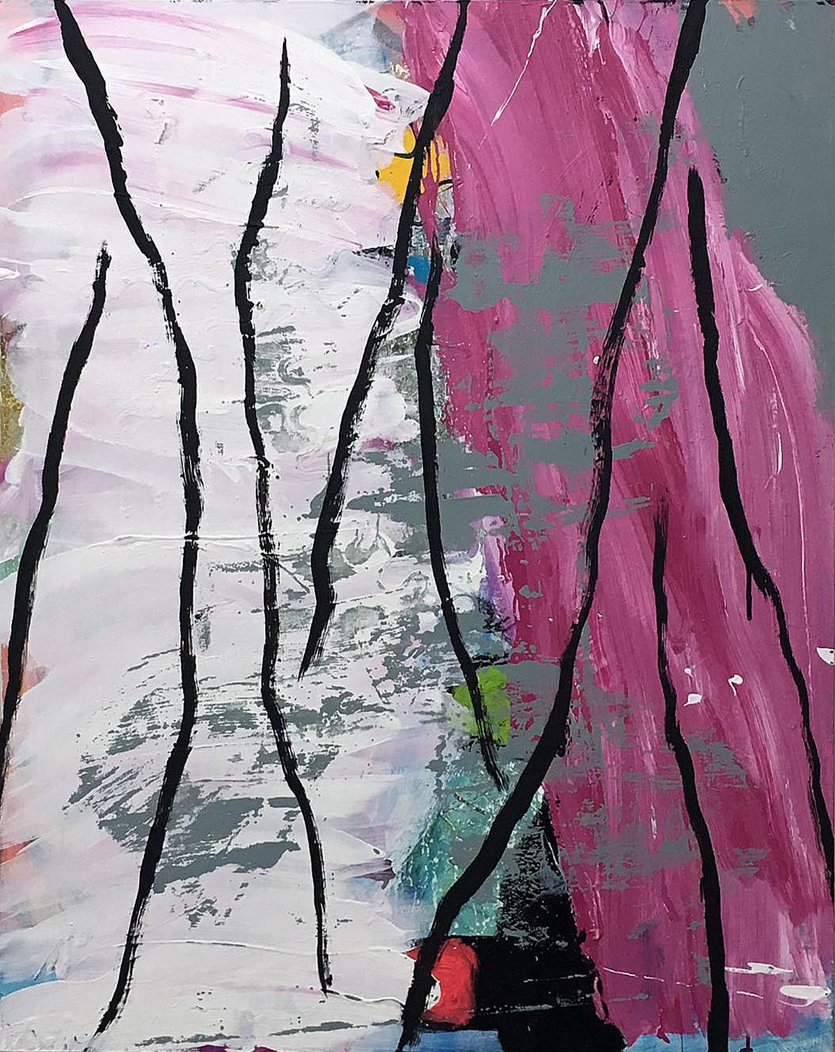 T. mixta. 162 x 130 cm. 2017