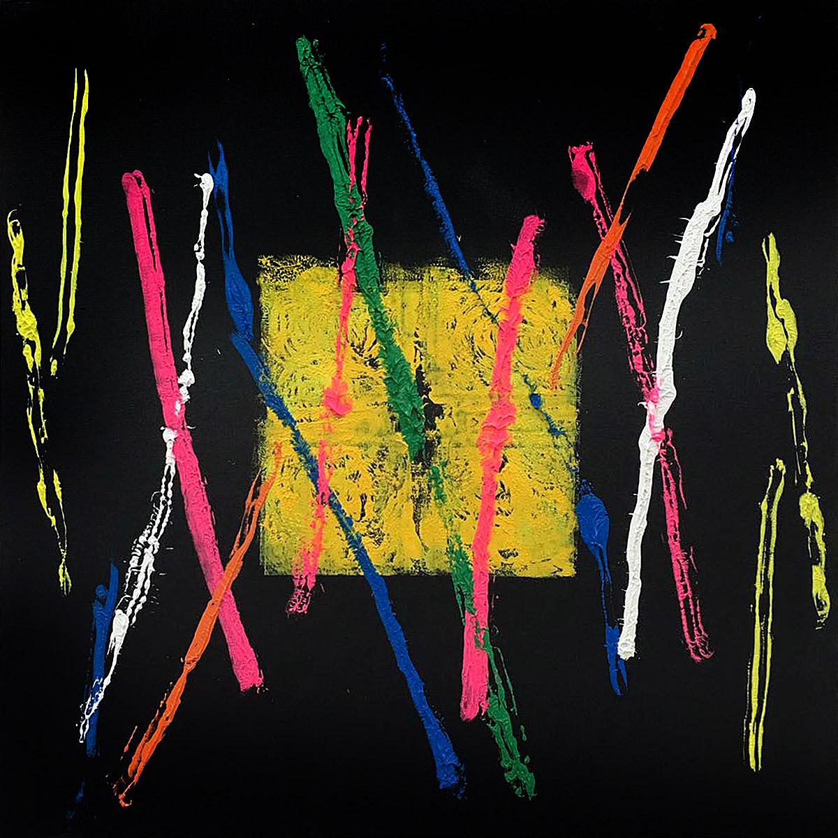 T. mixta. 100 x 100 cm. 2017