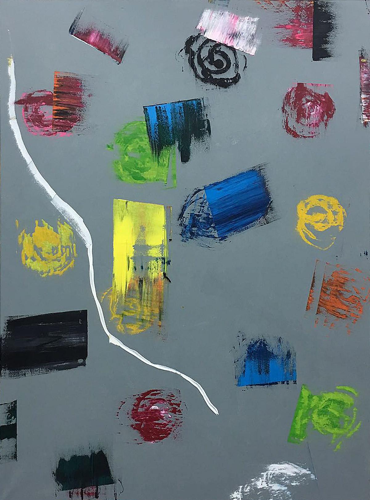 T. mixta. 200 x 150 cm. 2017