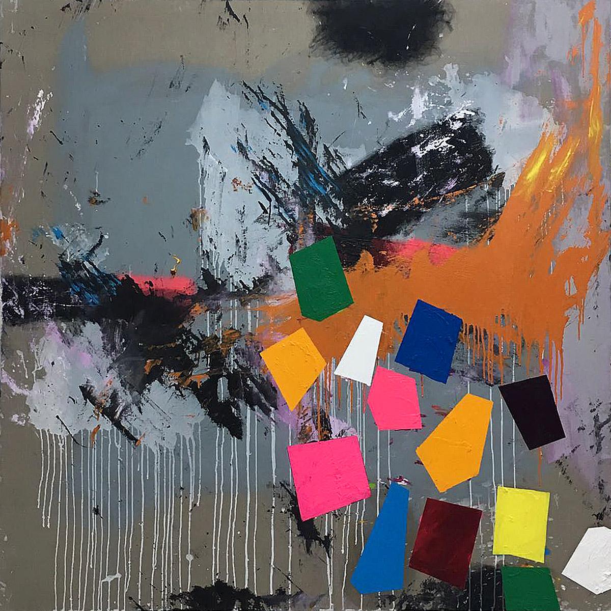 T. mixta. 200 x 200 cm. 2017