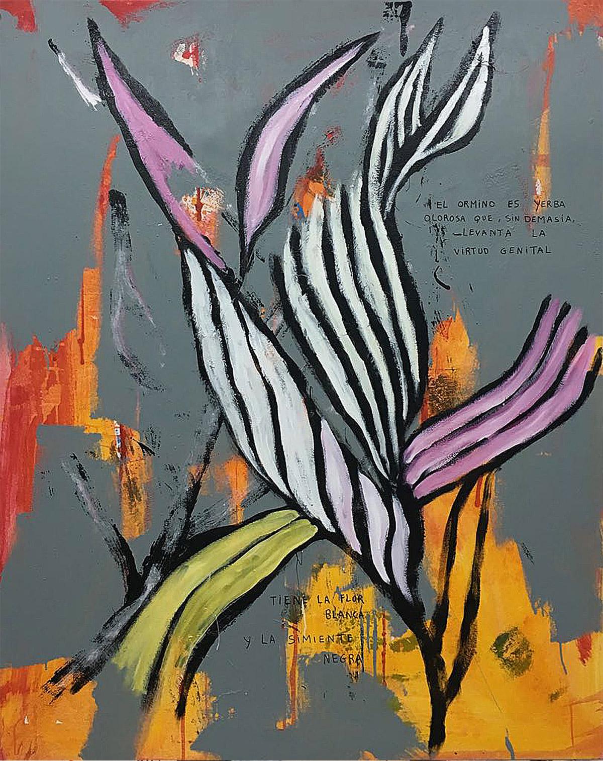 Mixed/canvas 162x130 cm. 2018