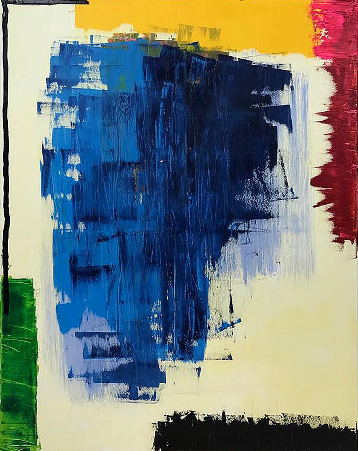 Oil/canvas 162x130 cm. 2018
