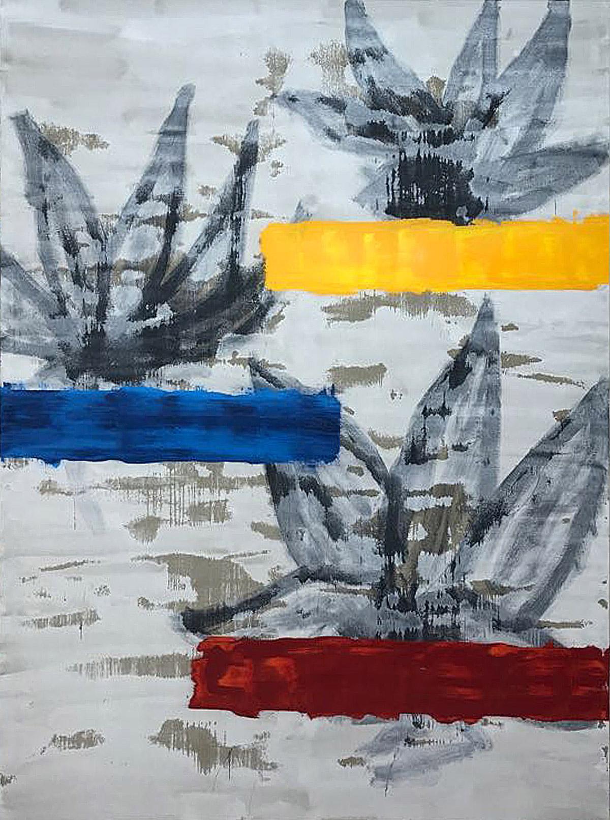 Mixed/canvas 250x200 cm. 2018